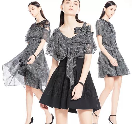 保时霓品牌女装新品 探索格纹世界的精致曼妙