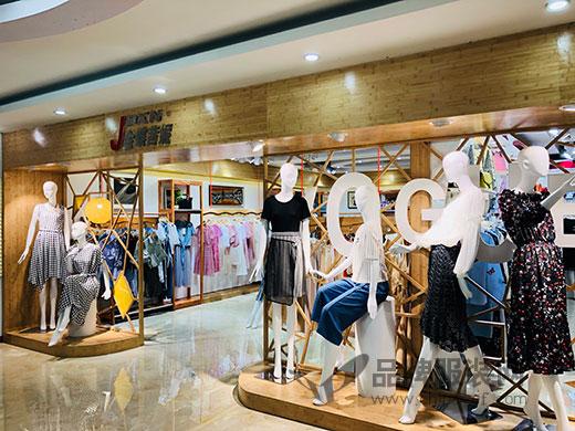 JDXN金蝶茜妮最时尚的橱窗和第七代店铺形象升级