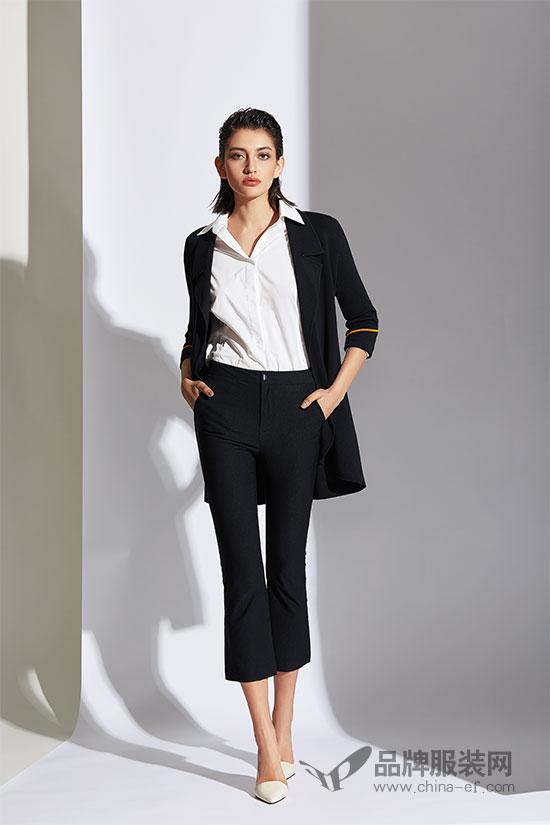 永不过时的黑色代表优雅 看SN品牌女装新品如何演绎