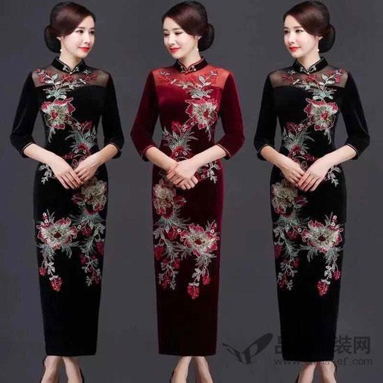 """东方贵族""""优雅旗袍 将东方女人的特质展现得淋漓尽致"""