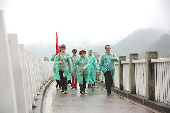 2018年信诺集团41.8KM徒步挑战活动庆生十八岁