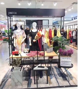 内蒙古包百商场婕妮熙专柜即将开业 欢迎您前来参观