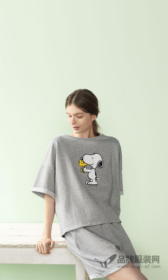 优衣库姊妹品牌GU首次携手Peanuts、Barbie及Snoopy