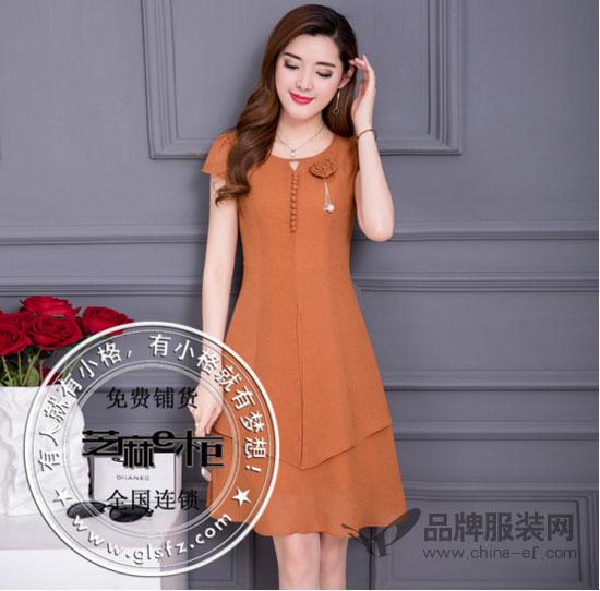 芝麻E柜夏季连衣裙让曲线更优美 全方位诠释女性热情浪漫