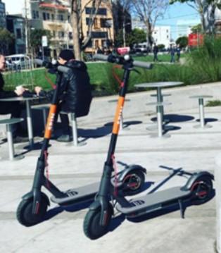 国产电动滑板车占据美国街头 投放公司为何否认来自中国?