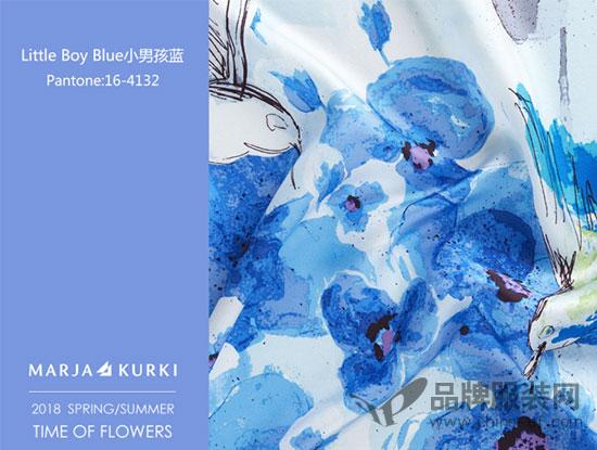 时尚品牌MARJA KURKI「花漾年华」2018春夏发布会