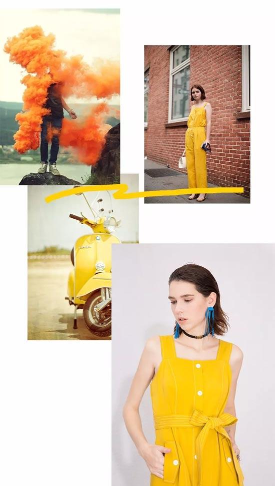 betu百图时尚 自由遐意 绘一笔云雀黄的时尚印象