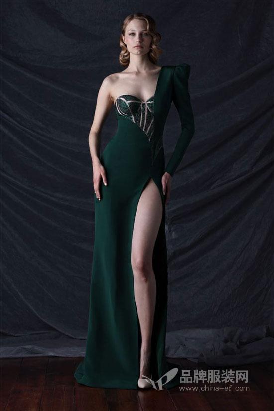 高级定制婚纱及礼服品牌MIKAEL D迷蔻笛2018秋冬新品