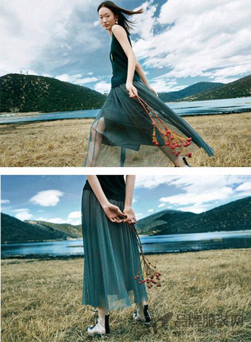 """""""雀啡""""女装搭配免于身材的苦恼 更得时尚达人青睐"""