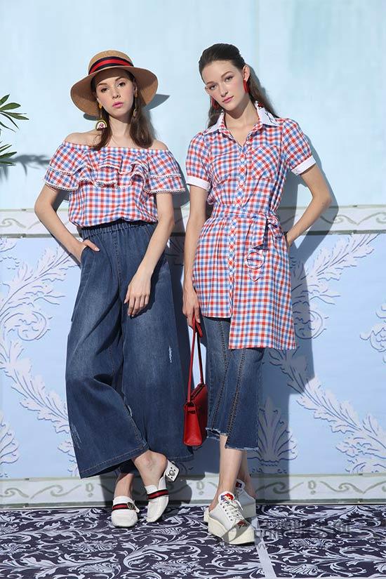 珈姿·莱尔JZLE品牌女装新品 轻松打造不一样的夏日DENIM STYLE