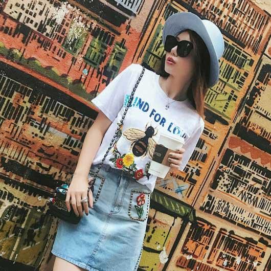 春美多:青春时髦不二选 T恤绝对是大爱