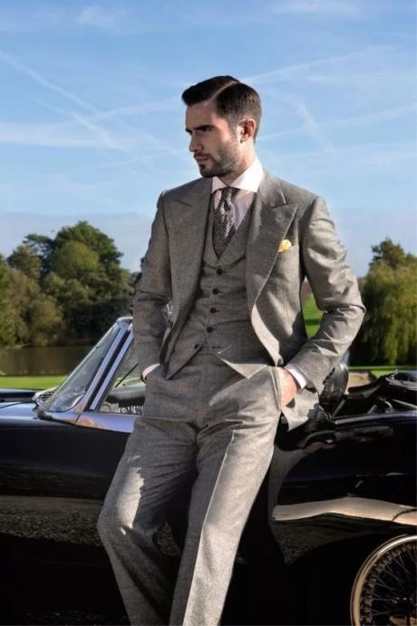 生活品鉴 西装绅士的品味奢华与教养