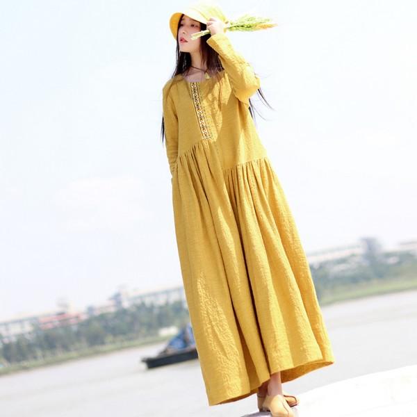 春美多:飘逸随风 有裙的春天才生动
