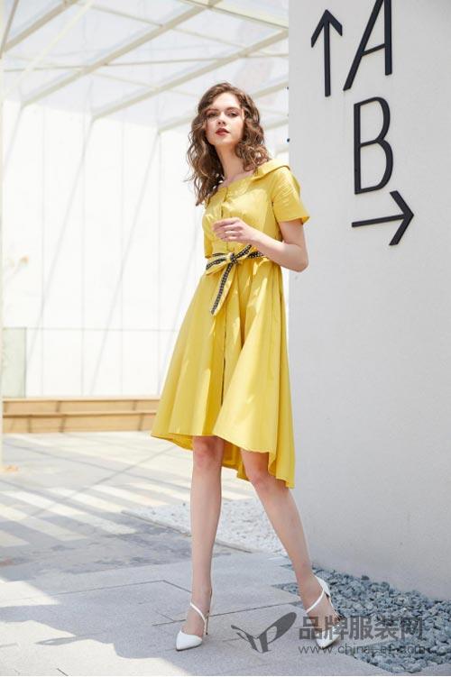 金蝶茜妮夏季女装 让你成为优雅精致的都市时尚女神