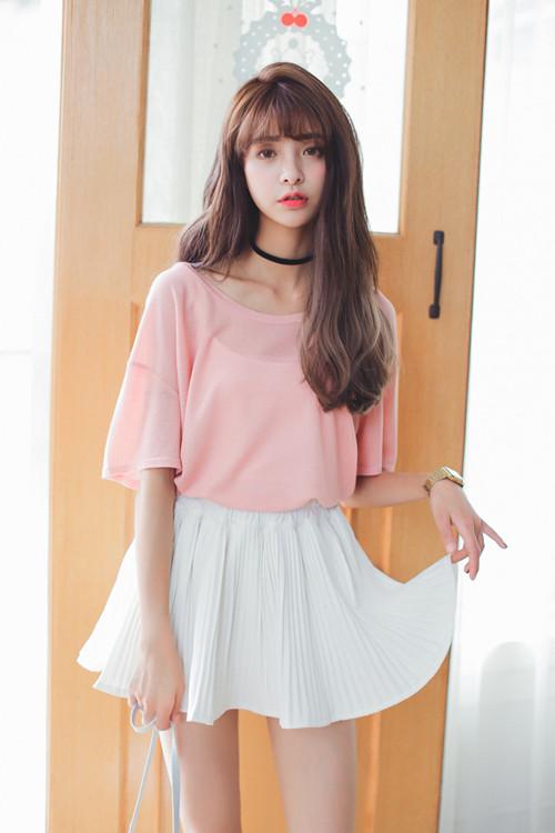 聚多品:粉色上衣配什么颜色裙子 快去试试五大色系