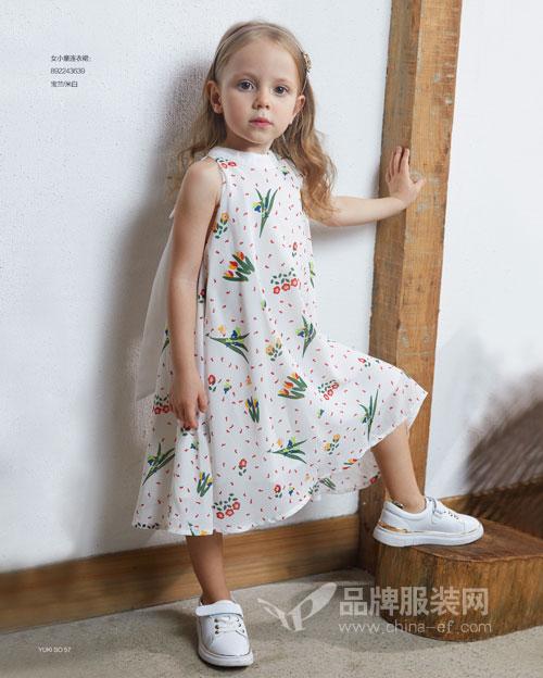 童装色彩搭配有什么讲究?YukiSo夏季新品童装
