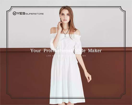 YES品牌女装新店即将开业 离你又近一步!