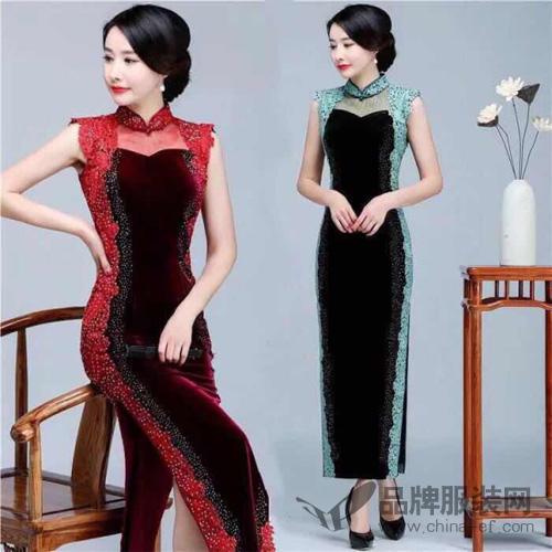 夏季的诱惑 东方贵族旗袍日常服饰里的贵族