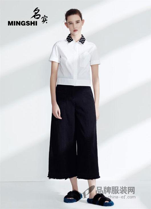 极简的黑白不需修饰 名实MINGSHI女装美得坦坦荡荡