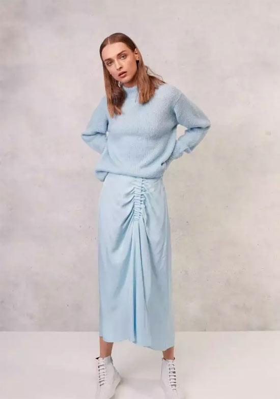 OUYUE欧玥品牌女装夏季穿搭裙 你不试试吗?