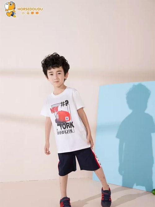小马嘟嘟童装夏季上新:属于孩子的颜色