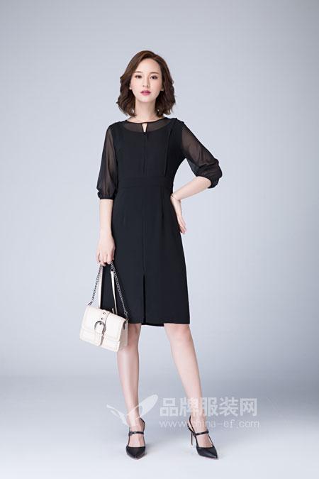 女人如何穿搭出完美身材比例?曼保睐女装夏季新品!