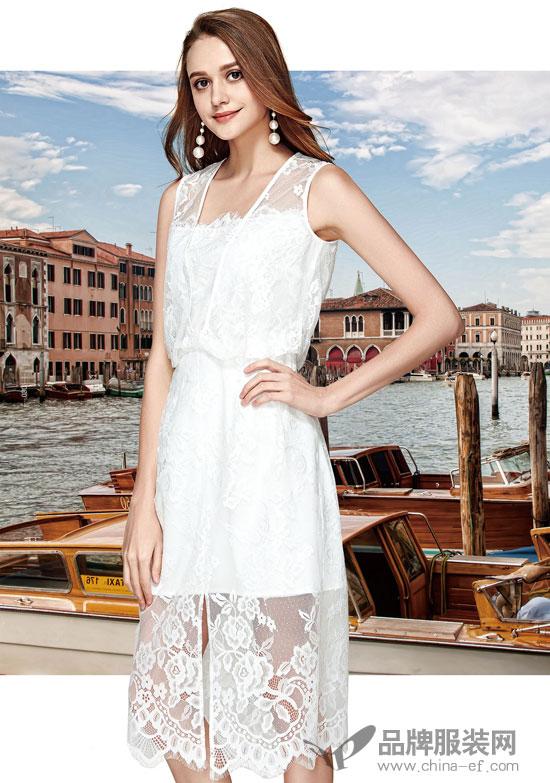 楚阁品牌女装 夏季必备的时髦连衣裙单品