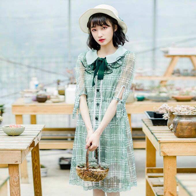 春美多:化身万人迷?仙气飘飘的连衣裙成为了助攻