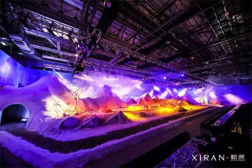 XIRAN熙然2018冬季新品发布会:画笔演奏的乐章