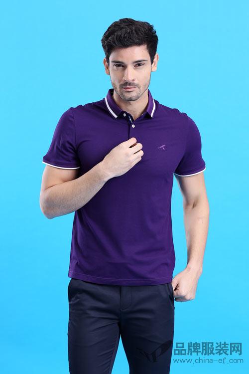"""wangok皇卡时尚条纹衫 让潮流与你""""零距离"""""""