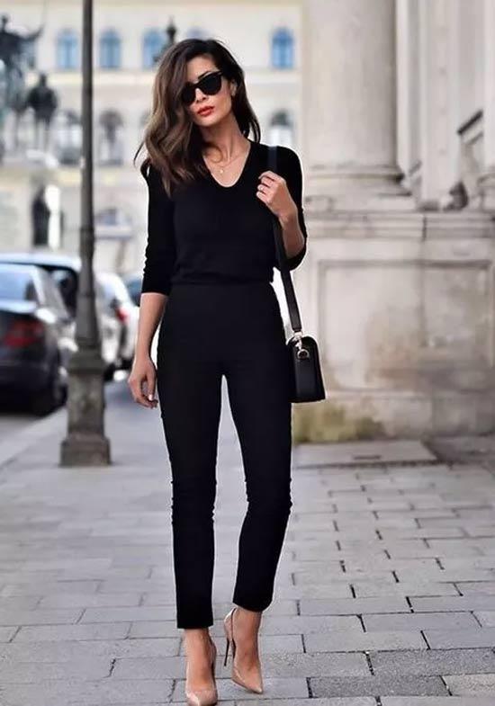 学会穿搭连体裤 让你变身优雅气质女神
