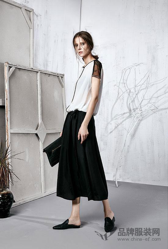 这个夏天阔一点才时髦 意澳女装品牌2018夏季新款阔腿裤系列