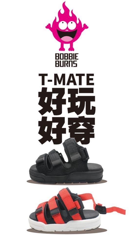 BOBBIE BURNS夏日新款T.MATE凉鞋上市