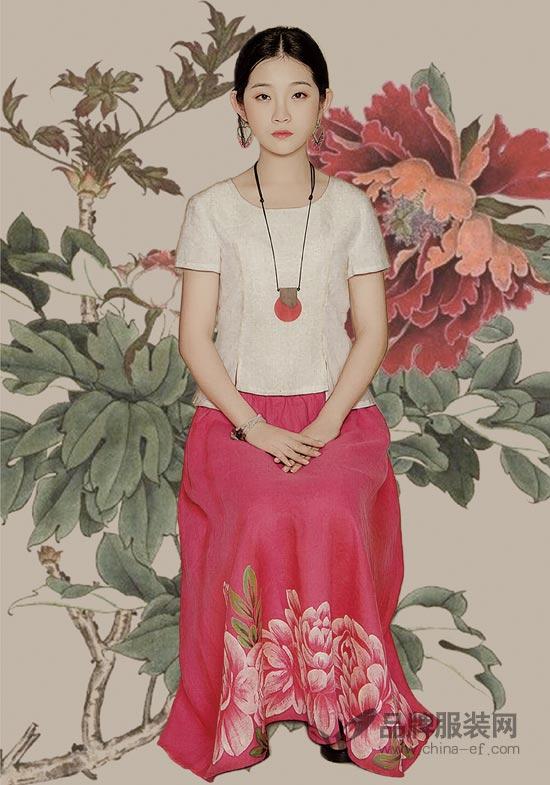 曼茜纱品牌女装 让你享受自然、淳朴、舒适的着装