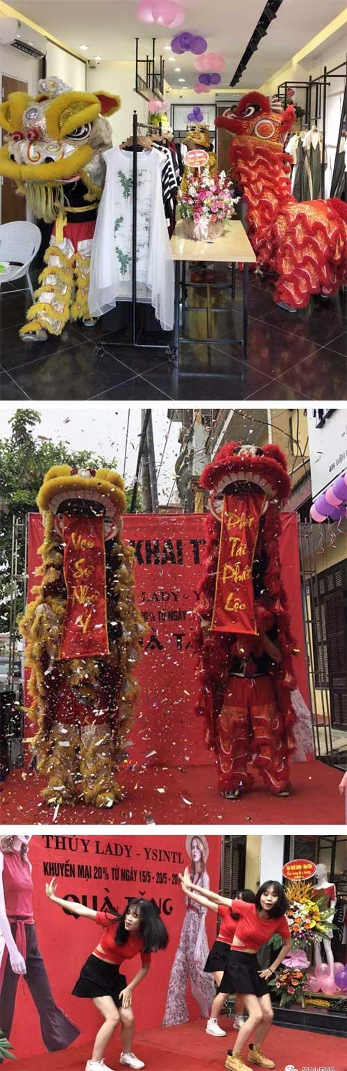 """沿""""一带一路""""羽沙国际越南安沛市旗舰店盛大开业"""