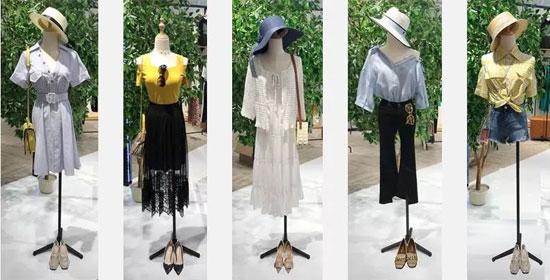 左韩女装夏季(5月14波段)新品指引
