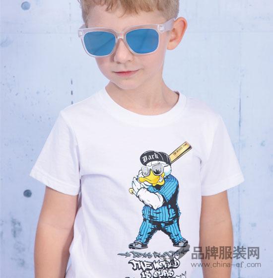 男童穿什么衣服好看 小积木童装夏季T恤登场