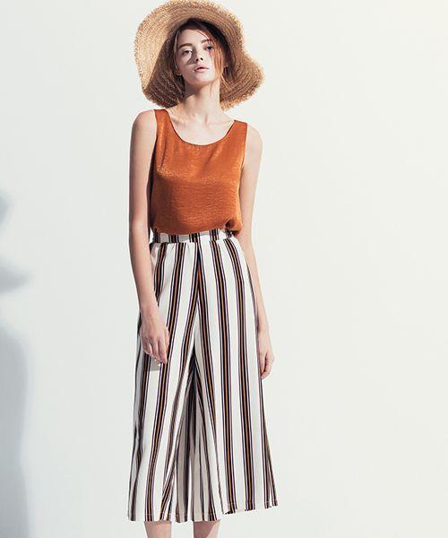 春美多:条纹显瘦不假 穿起来时髦也是真