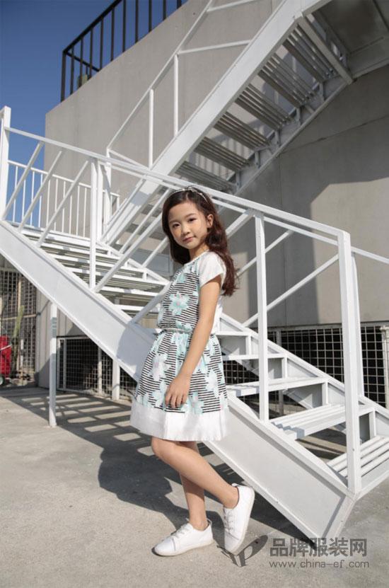 """""""土巴兔""""可爱甜美童装 让孩子留住最美好的童年时光"""