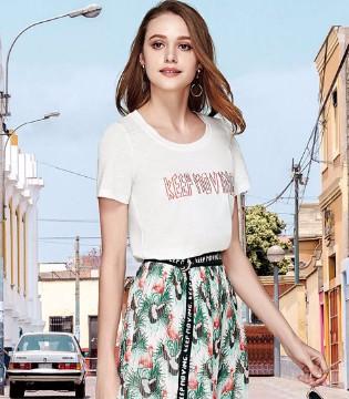 楚阁女装夏季新款 让衣服成为你的点睛之笔