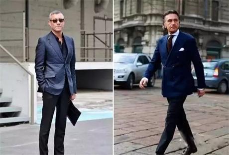华名人课堂 男士西装颜色时尚搭配