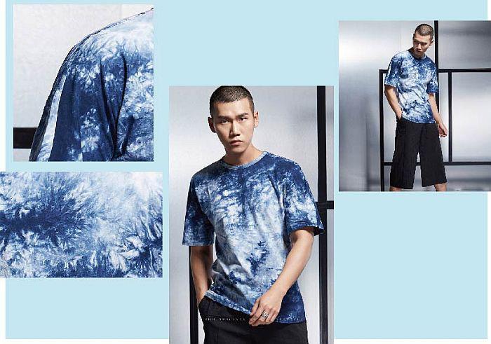 意树品牌男装 时尚流行风范之——蓝