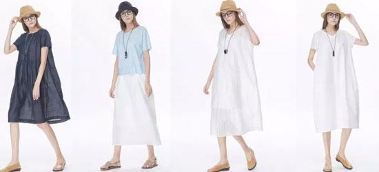 墨曲品牌女装 流年伴夏 18夏新品上市