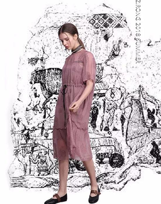 2018ZIRONG子容女装新品 致敬五月末的夏天