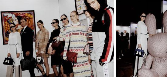 风尚新视点 HR赫莲娜&BOSSSUNWEN时尚跨界艺术沙龙