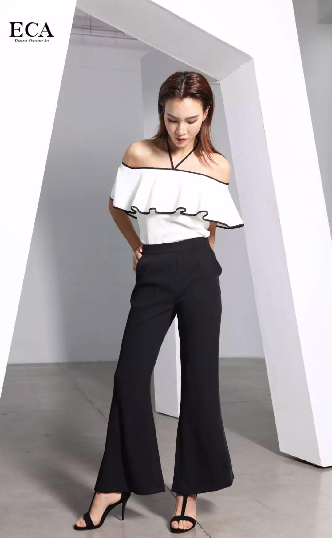 ECA高级时装新品 梦幻的黑与白 请允许我成为你的夏季!