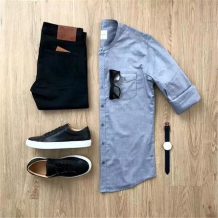 华名人定制课堂 型男必备日常衬衫搭配指南