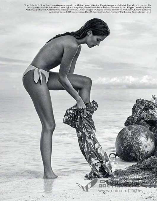 葡萄牙超模Sara Sampaio墨西哥版2018《Vogue》六月刊