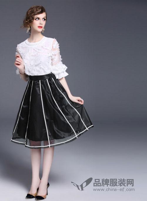 司合伊品牌女装新品 给你甜美公主风和清新学院风