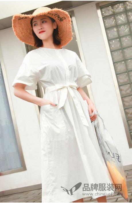 夏季想仙气十足 当然少不了海玲品牌女装